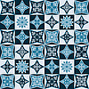 Vector clipart: pattern with snowflakes