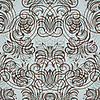 Vector clipart:  seamless vintage pattern