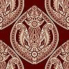 ID 3125409 | Nahtloser orientalischer Paisley-Hintergrund | Illustration mit hoher Auflösung | CLIPARTO