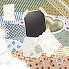 Vector clipart: scrapbook template design