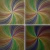 набор абстрактных ретро-фонов