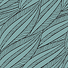 seamless pattern with funky leaves