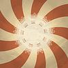 Vektor Cliparts: Retro-Hintergrund mit abstrakten Muster und Platz für Ihren