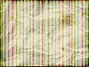 Vector clipart: striped background on crumpled burning paper