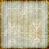 seamless floral wallpaper on striped background, crumple