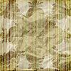Papel pintado inconsútil floral sobre fondo de rayas | Ilustración vectorial