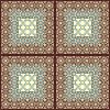 Vector clipart: seamless eastern style pattern
