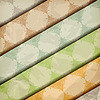 Векторный клипарт: цветочные узоры на мятую бумагу текстуры