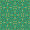 Vector clipart: seamless bright pattern, oriental style