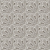 seamless floral monochrome pattern with bizarre flowers