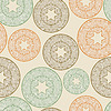 seamless pattern with lacy balls