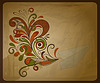 Vector clipart: eco concept composition with paper plane and and flor