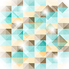 Vector clipart: seamless geometric pattern with 3d illusion