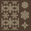 Vector clipart: Seamless Winter Pattern and Snowflake Design