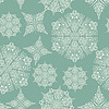 Vector clipart: Seamless Wintaer Pattern with Snowflakes
