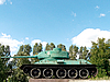 Photo 300 DPI: tank on pedestal