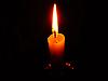Photo 300 DPI: burning candle flame