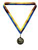 ID 3044568 | Anspruch auf einen sportlichen Sieg führt zu einer Medaille | Foto mit hoher Auflösung | CLIPARTO