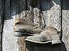 钉皮靴 | 免版税照片
