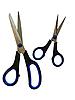 Dwie pary nożyczek | Stock Foto