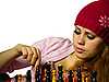 Photo 300 DPI: girl plays chess
