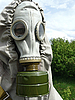 Photo 300 DPI: general gas mask set