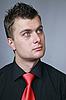 ID 3060096 | Mann in eine Krawatte | Foto mit hoher Auflösung | CLIPARTO