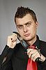 ID 3060099 | Człowiek walczy nóż | Foto stockowe wysokiej rozdzielczości | KLIPARTO