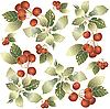 Background of berry ornament | Stock Vector Graphics