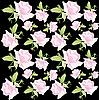Vector clipart: floral background of roses