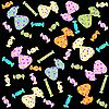 Vector clipart: Confectionery pattern