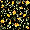 background of yellow roses