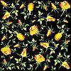 Hintergrund von gelben Rosen