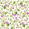 Vector clipart: background of flowers