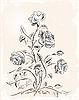 Векторный клипарт: старинные открытки с розами