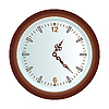 Vector clipart: wall clock