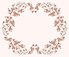 ID 3047502 | Flower vignette | Stock Vector Graphics | CLIPARTO