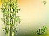 Vector clipart: bamboo design