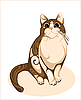 Cat | Stock Vector Graphics