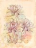 빈티지 꽃 스케치 | Stock Vector Graphics