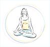 Vector clipart: yoga practice