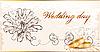 빈티지 웨딩 카드 | Stock Vector Graphics
