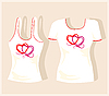 Vector clipart: t-shirt design