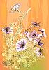 Vector clipart: Petunias flowers