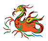 funny Chinese dragon