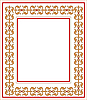 Vector clipart: frame with ornament