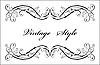 Классическая виньетка | Векторный клипарт