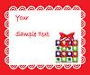 Векторный клипарт: Дисконтная карта с подарком