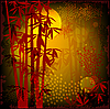 Vector clipart: bamboo forest