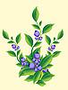 Vector clipart: berries